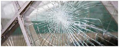 Lancaster Smashed Glass